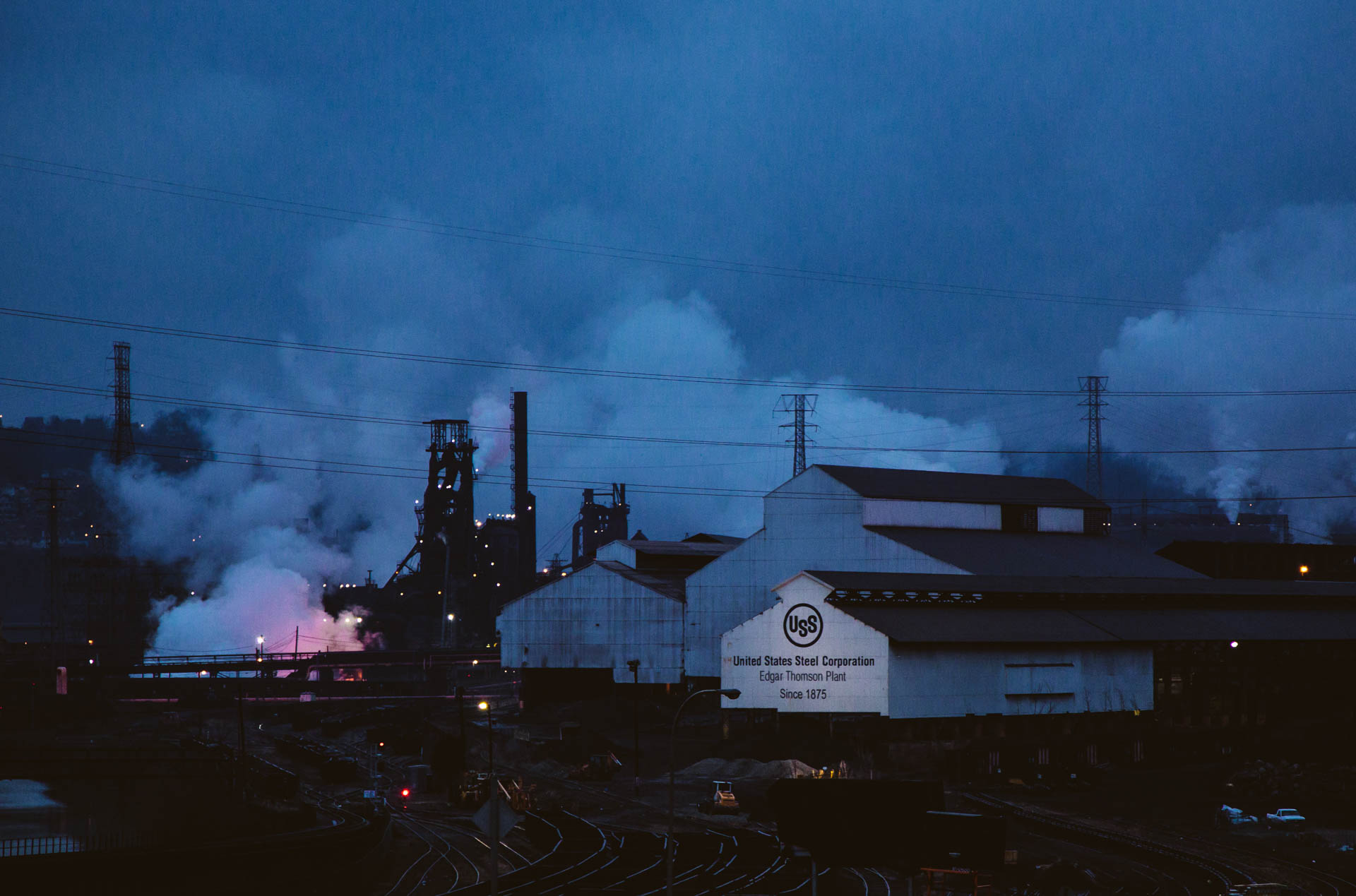 us-steel-edgar-thomson-plant-steamy-dawn-blue-hour-3811
