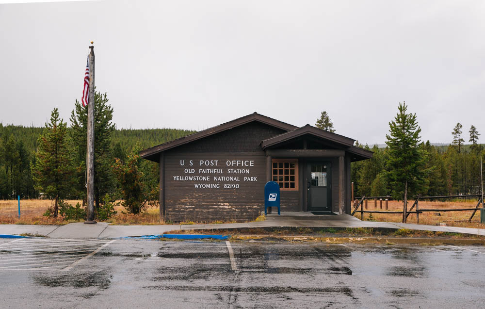 Old Faithful Station, Yellowstone National Park, Wyo. 82190